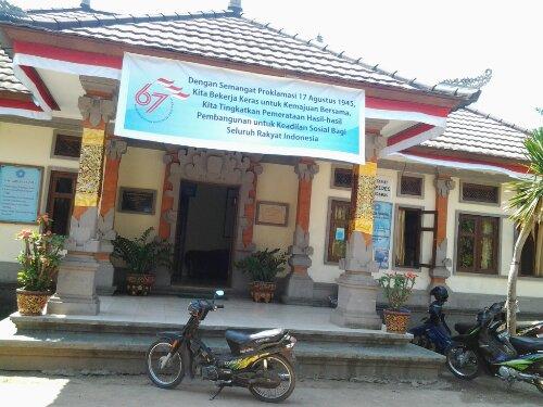 Kantor Desa Keramas menyediakan wifi gratis